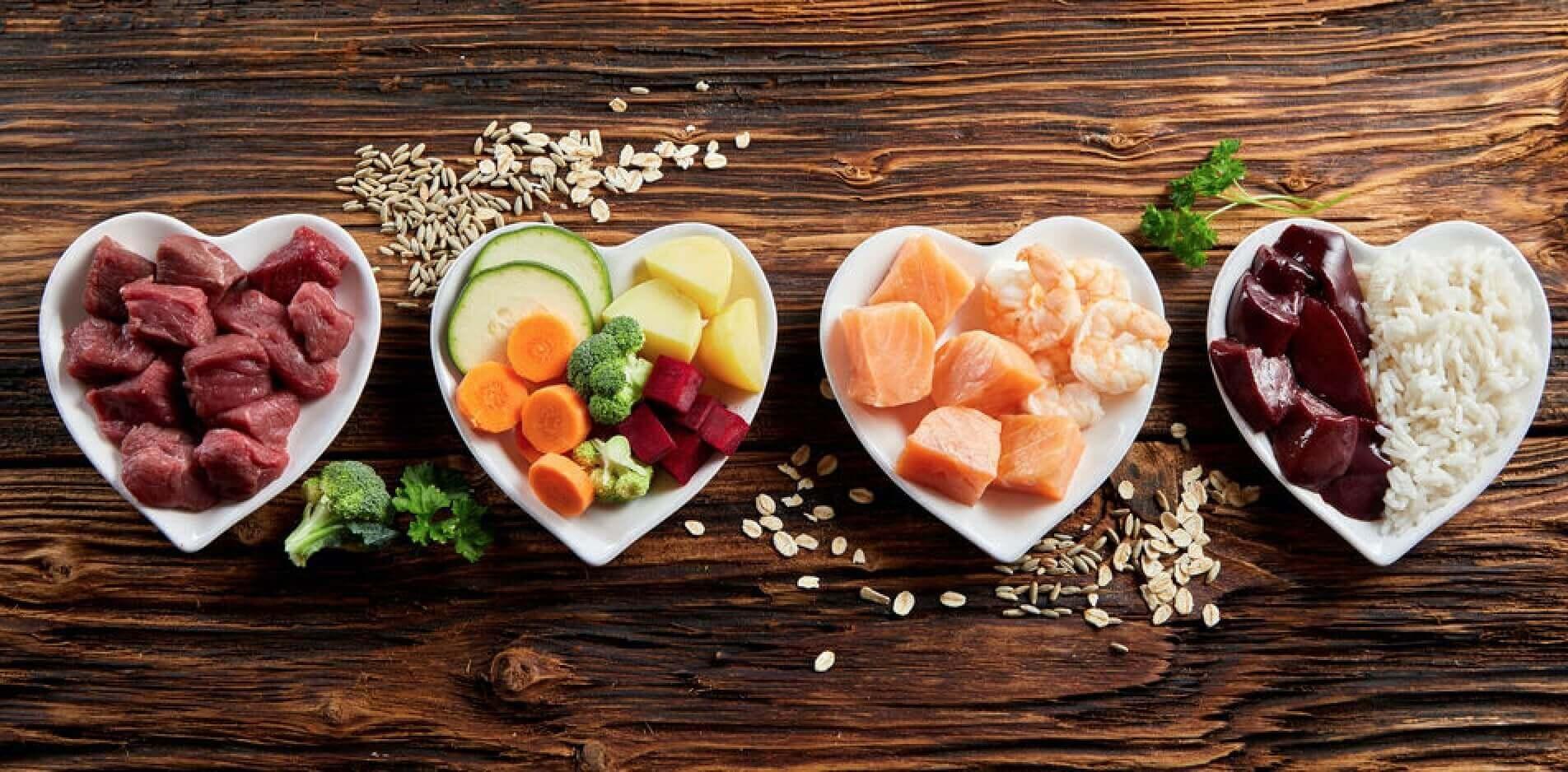 Alimentazione e dieta BARF per cani - Nutrizione del cane a base di carne cruda, ossa carnose, pesce crudo, organi, viscere, frutta e verdura 13